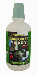 Rainforest Toddy combines the power of the minerals found in SupraLife NetworkTM world-famous Mineral Toddy.